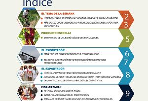 Perú Exporta N° 302: Promoverán exportación de pequeños productores de La Libertad.